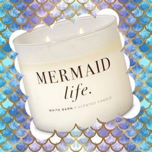 "NEW ""Mermaid Life"" Candle"